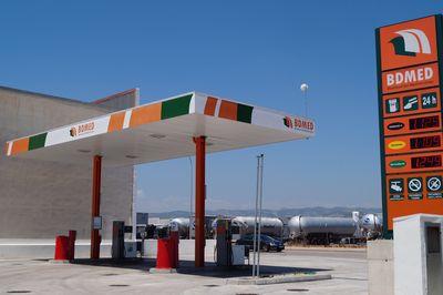 Gasolinera Ciudad del Transporte Low-cost