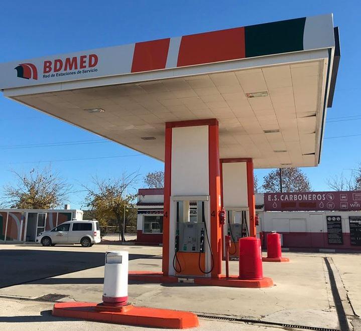 Gasolinera carboneros Bou Low-cost