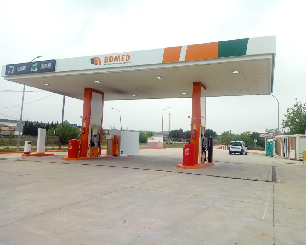 Gasolinera Carboneros Low-cost