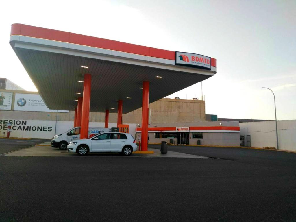 Gasolinera El Ejido Low-cost