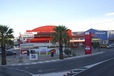 Gasolinera Euroil 4 Caminos Low-cost